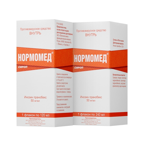 Normomed® sirup approved for use over-the-counter